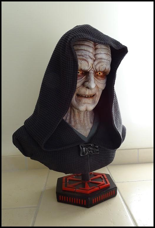 Star Wars : Palpatine lifesize bust Palpat12