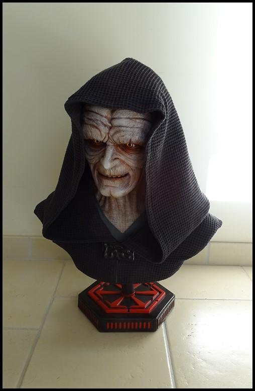 Star Wars : Palpatine lifesize bust Palpat13