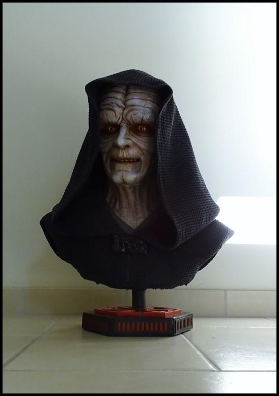 Star Wars : Palpatine lifesize bust Palpat14