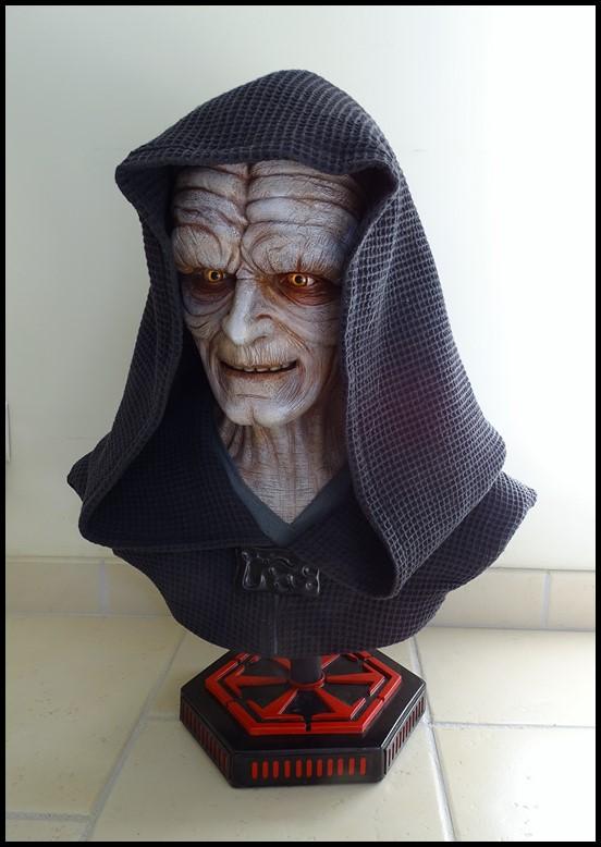 Star Wars : Palpatine lifesize bust Palpat16