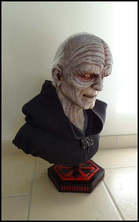 Star Wars : Palpatine lifesize bust Palpat17