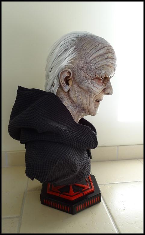 Star Wars : Palpatine lifesize bust Palpat18