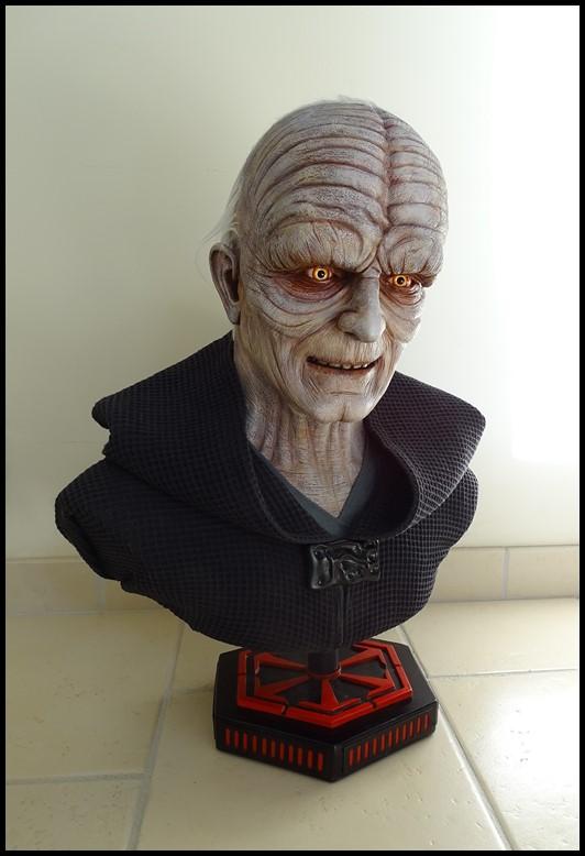 Star Wars : Palpatine lifesize bust Palpat19