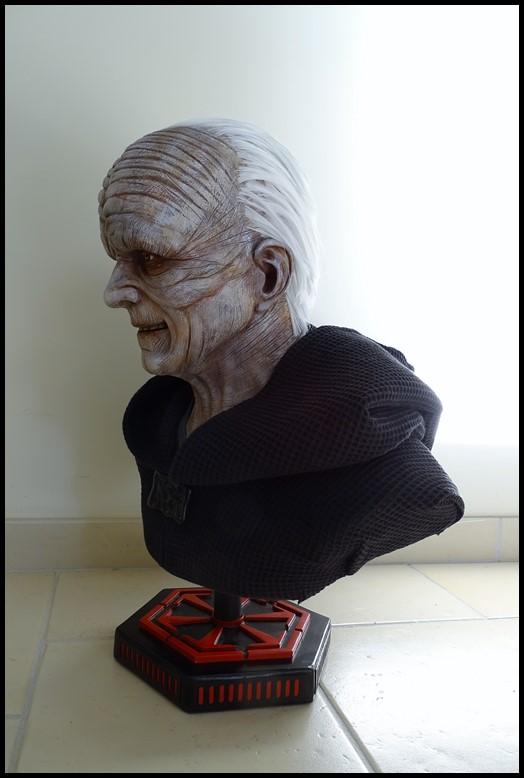 Star Wars : Palpatine lifesize bust Palpat20