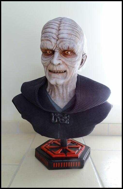 Star Wars : Palpatine lifesize bust Palpat21