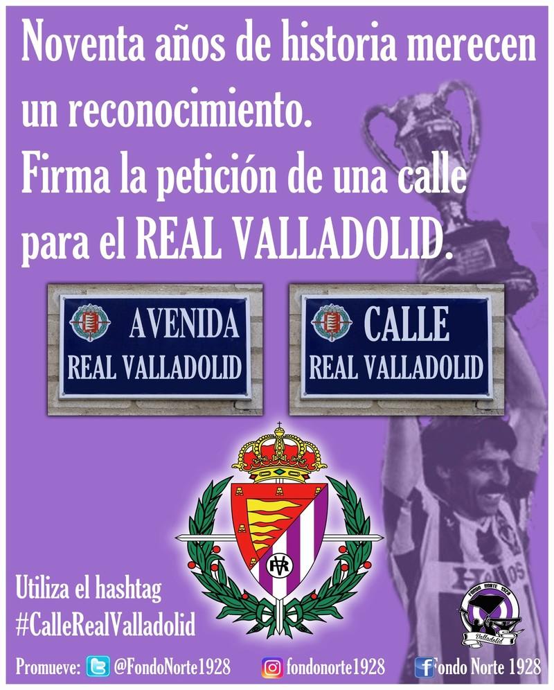 #CalleRealValladolid 20180511