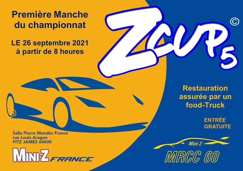 Première manche ZCup 2021/2022 le 26 septembre 2021. Affich10