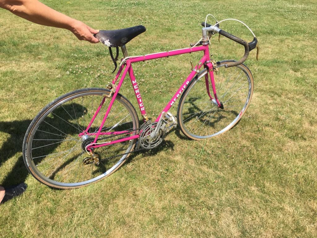 Mercier rose Gold, mon premier vélo 04110