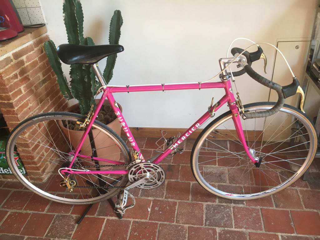 Mercier rose Gold, mon premier vélo 10110
