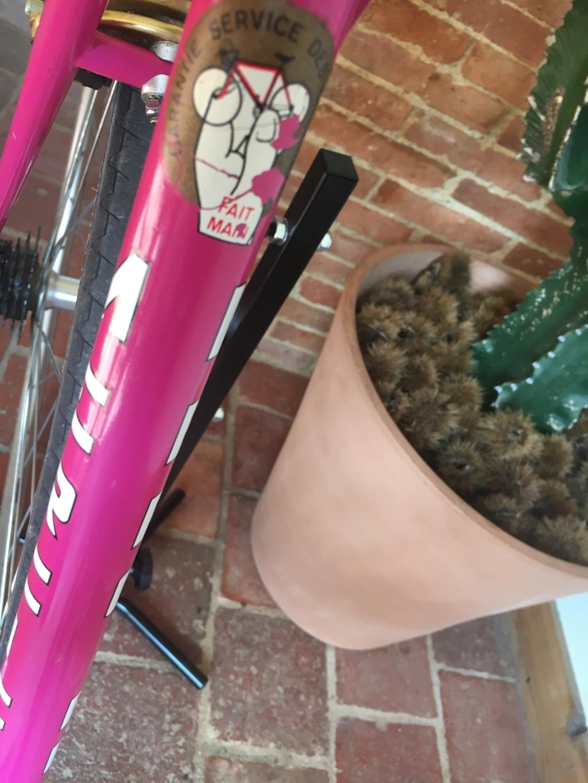Mercier rose Gold, mon premier vélo 10410