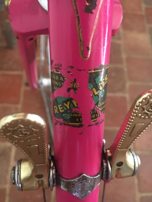 Mercier rose Gold, mon premier vélo 10610