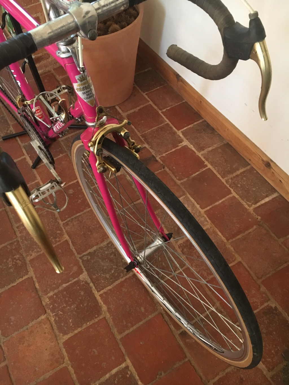 Mercier rose Gold, mon premier vélo 10710