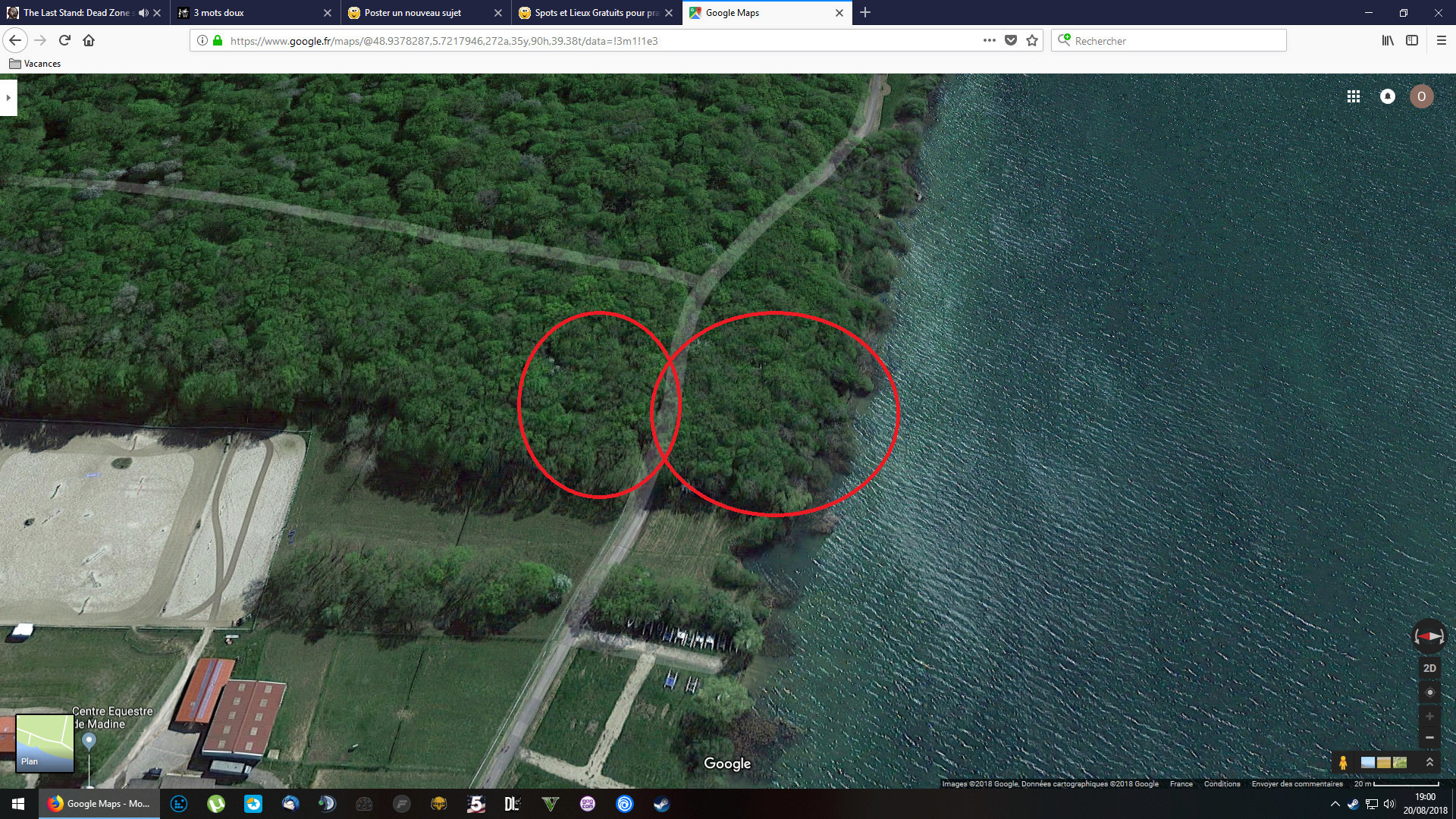 Spot potentiel à tester en Lorraine : La digue du lac de Madine Madine11