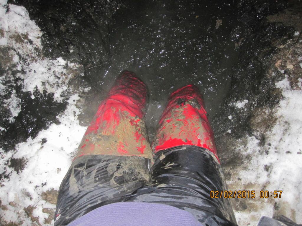 """Женские """"ботфорты"""" на высоких каблуках в грязи!!! Img_7614"""