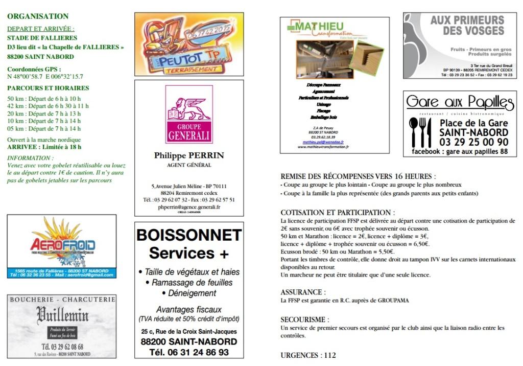 20ème Marche Populaire - St Nabord (88) - 19/05/2019 - 50 Km A12