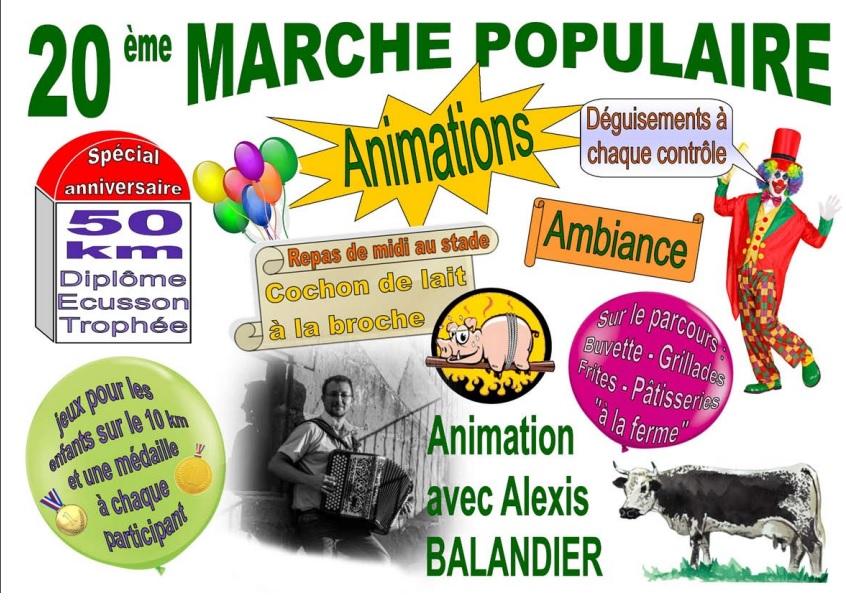 20ème Marche Populaire - St Nabord (88) - 19/05/2019 - 50 Km A13