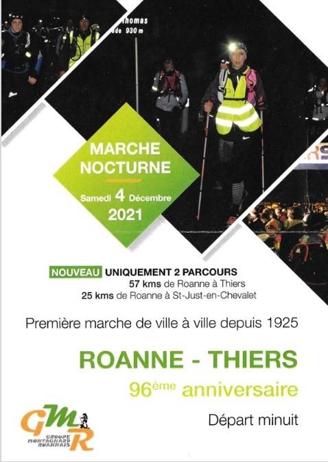 96ème Roanne - Thiers - 57 Km - Sam 4 Dec 2021 (minuit) A16