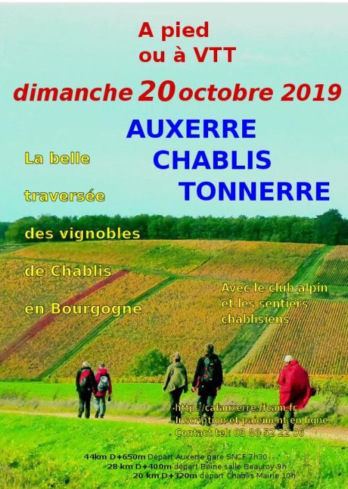 Auxerre - Chablis - Tonnerre - 44 Km - Dim 20 Oct 2019 Aff19_10
