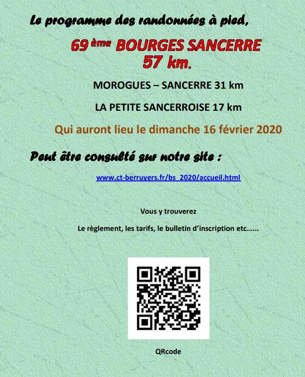 69ème Bourges - Sancerre - 57 Km - 16 Février 2020 Affich13