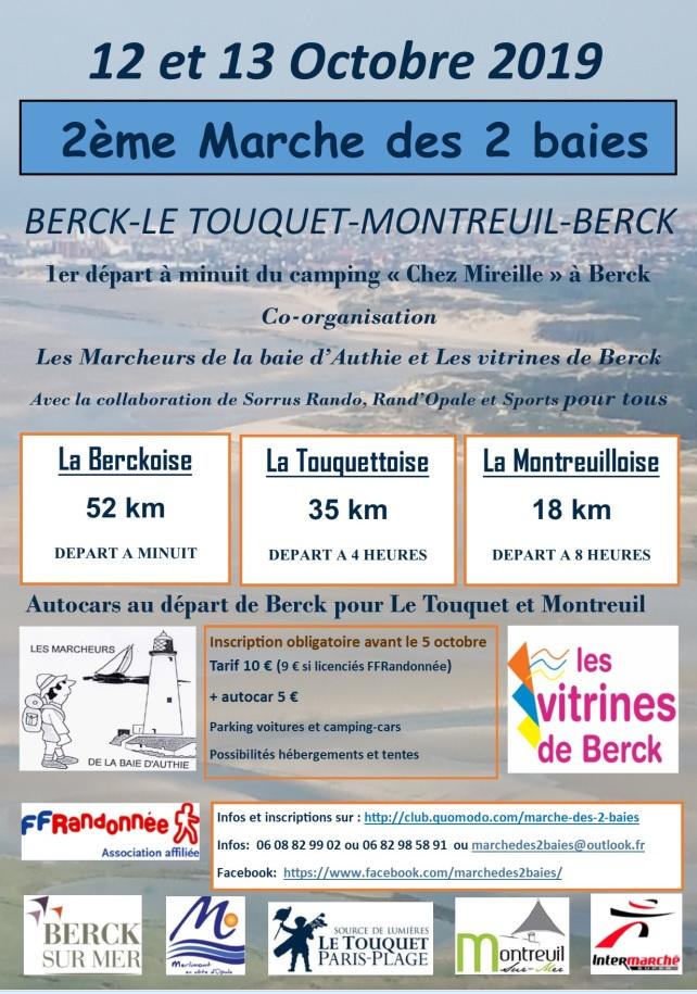 2ème Marche des 2 baies (62) - 52 Km - 12 Oct 2019 (Minuit) Baie10
