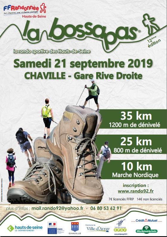 La 12ème Bossapas - Chaville (92) - 35 Km - Sam 21 Sept 2019 Bassap10