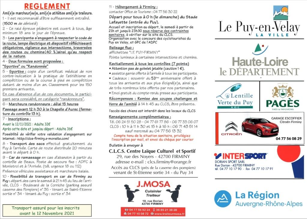 Raid Le Puy-en-Velay - Firminy - 69 Km -Dim 21/11/21- Annulé Bbbbb10