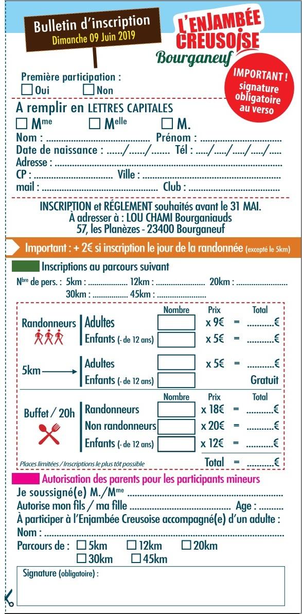 La 17ème Enjambée Creusoise (23) - 45 Km - DIM 9 Juin 2019 Creuse10