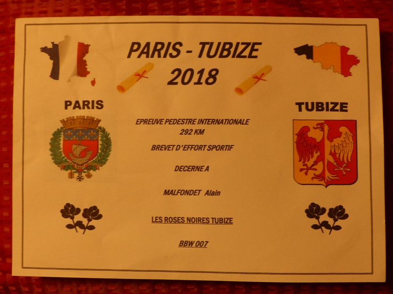 Paris-Tubize 2019 - 292 Km - 7 au 10 Juin  Diplom10