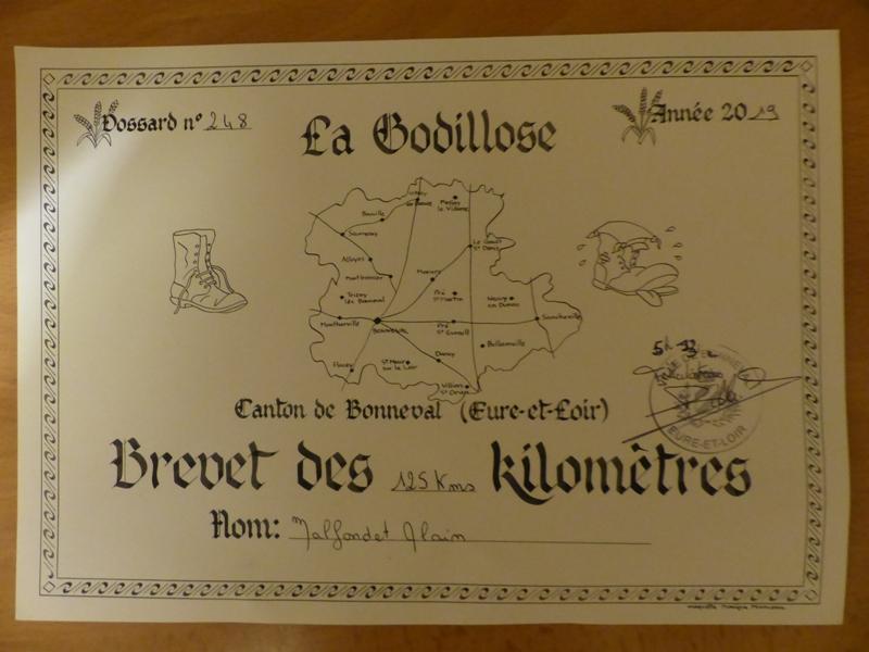 La Godillose 2019 - Bonneval (28) - 1 à 125 Km - 15/16 JUIN Godill10