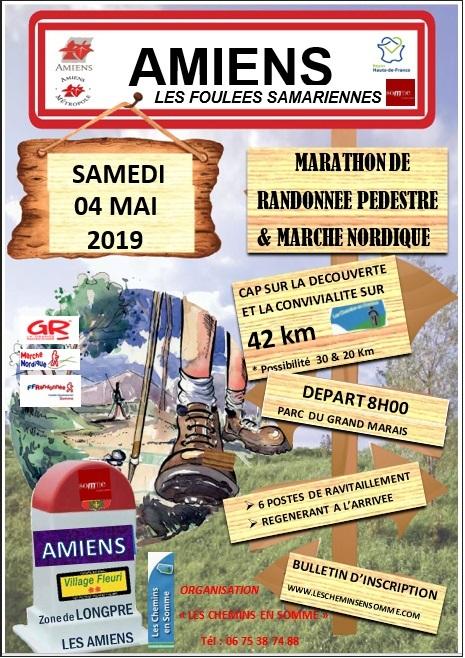 Foulées Samariennes (Amiens) - 42 Km - Sam 4 Mai 2019 - 8H Image10