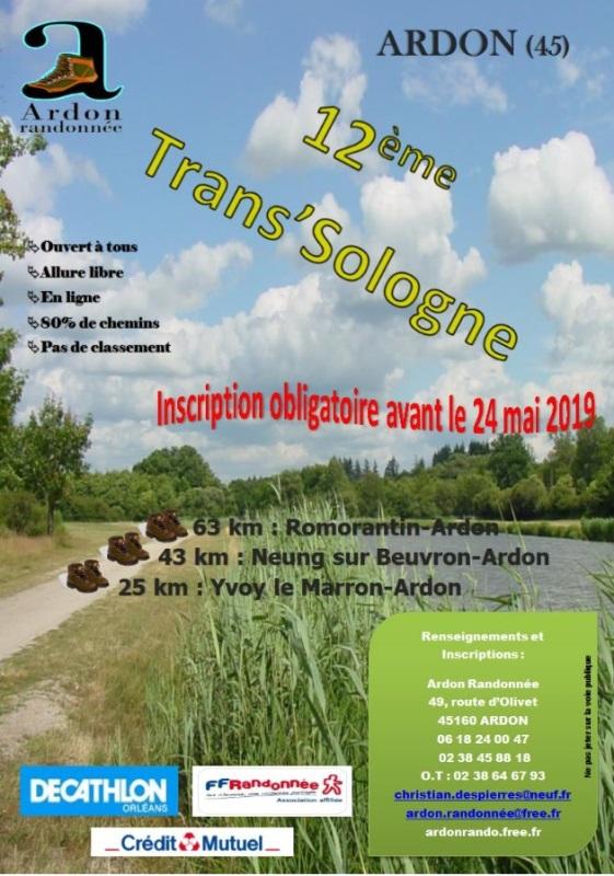 Trans' Sologne - Ardon (45) - Dim 2 Juin 2019 - 63 Km Image13