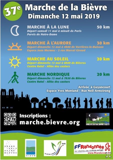 37ème Marche de la Bièvre - Dim 12 Mai 2019 - 50 Km Image15