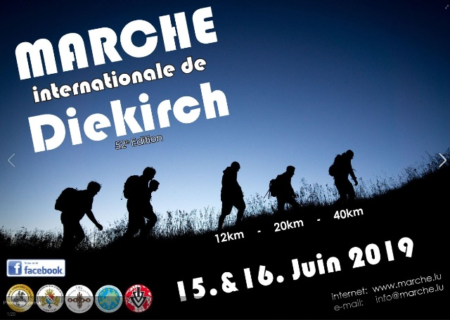 Marche Internationale de Diekirch (LUX) - 15/16 Juin 2019 Image16