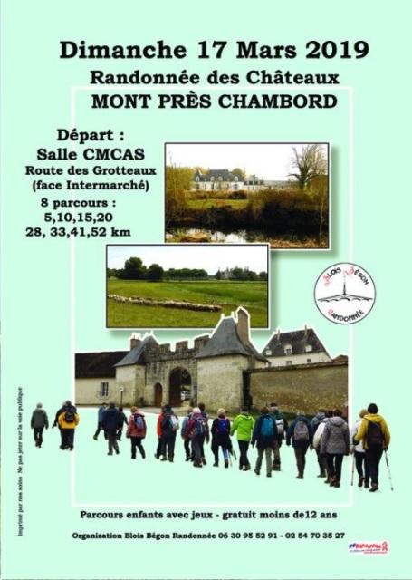 Rando des Chateaux - Mt Près Chambord (41) - 17/03/19 - 52Km Image21