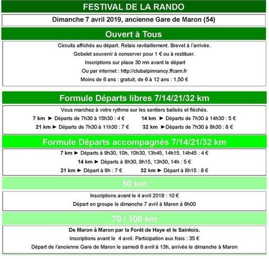45ème Festival de la Rando - Maron (54) - 6 et 7 Avril 2019 Image_10