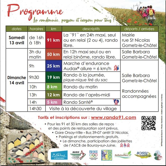 24h de marche de Gometz-le-Châtel (91) - 13/14 Avril 2019 Marche10