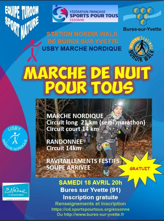 Marche de nuit - Bures/Yvette (91)- 18/04/20 - 20H - ANNULÉE Marche15