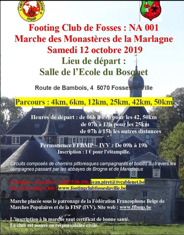 Marche des Monastères de la Marlagne (BEL) - Sam 12 Oct 2019 Monast10