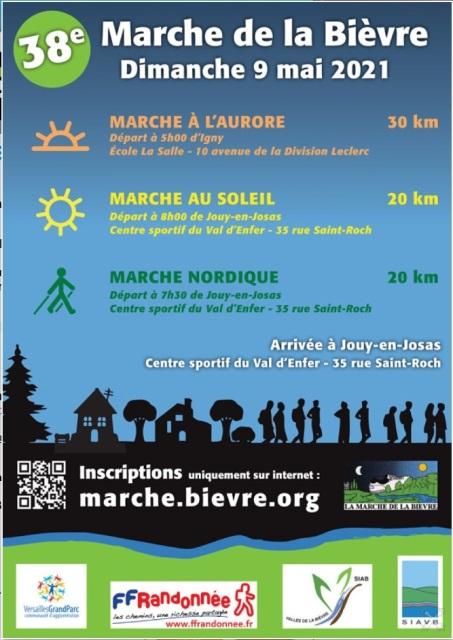 38ème Marche de la Bièvre - Dim 9 Mai 2021 - 30 Km  New11