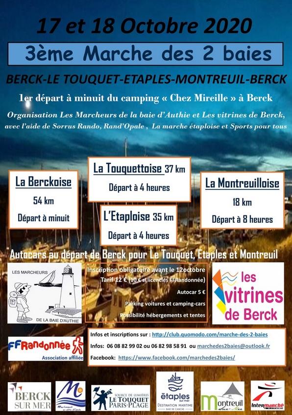 Marche des 2 baies (Berck - 62) - 54 Km - 17 Oct 20 - ANNULÉ Nouvel14
