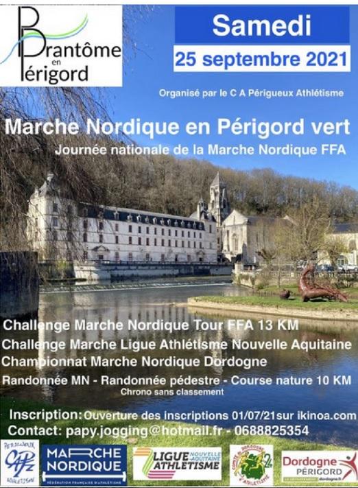 Marche nordique en Périgord Vert- Brantôme (24) - 25/09/2021 Nouvel16