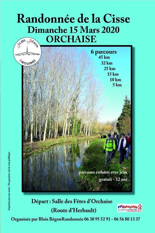 Randonnée de la Cisse - Orchaise (41) -Dim 15/03/2020- 45 Km Page110