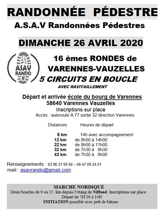 16èmes RONDES de VARENNES-VAUZELLES (58) - Dim 26/04/2020 Page_111