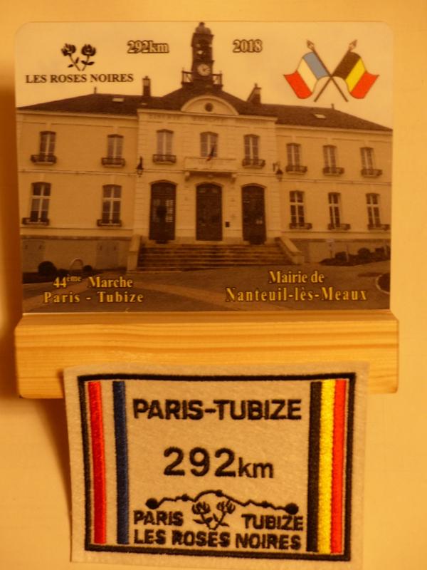 Paris-Tubize 2019 - 292 Km - 7 au 10 Juin  Plaque10