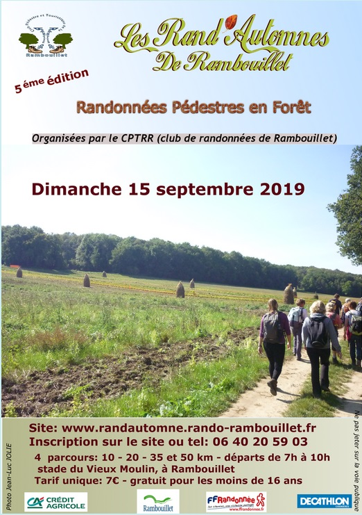 5ème Rand'Automne de Rambouillet - Dim 15/09/2019 -> 50 Km Rambou10