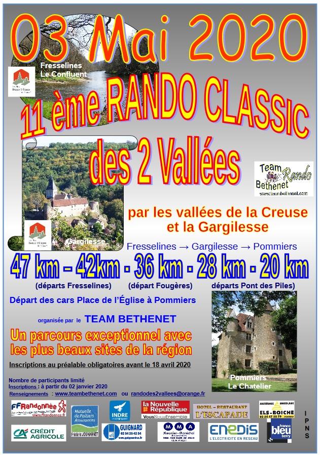 Rando des 2 Vallées - Pommiers (36) - Dim 3 Mai 2020 - 47 Km Rando10