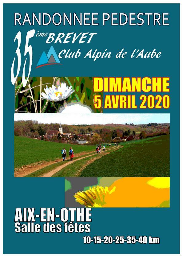35ème Brevet CAF Aube - Dim 5 Avril 2020 - 40 Km Rando11