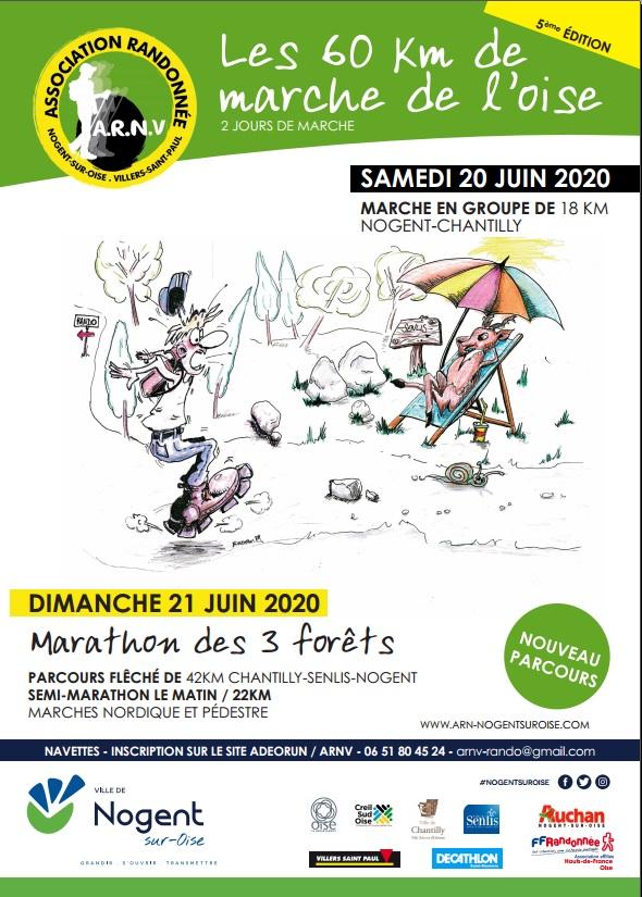 Les 60 Km de marche de l'Oise - 20/21 Juin 2020 - ANNULÉ Rando110