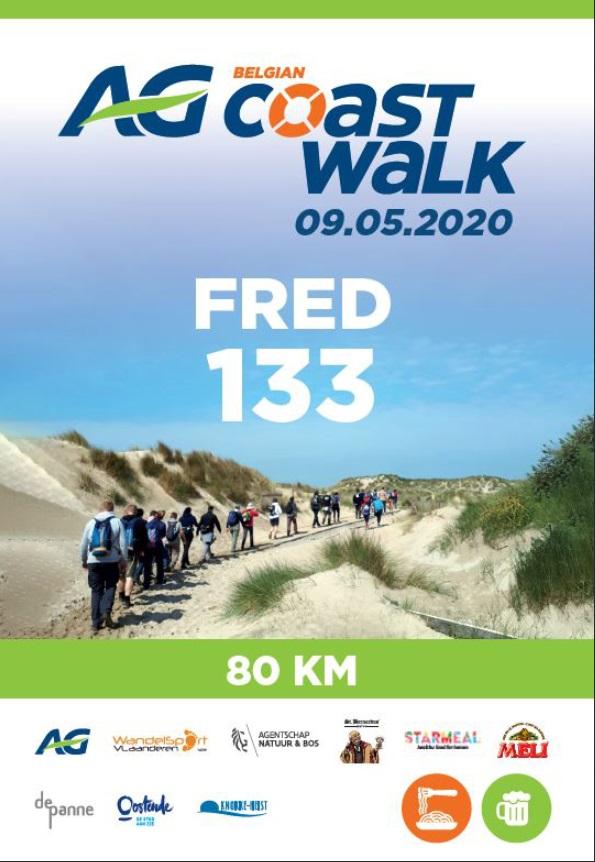 2ème édition Belgian Coast Walk - Sam 9 Mai 2020 - 80 Km Rando13