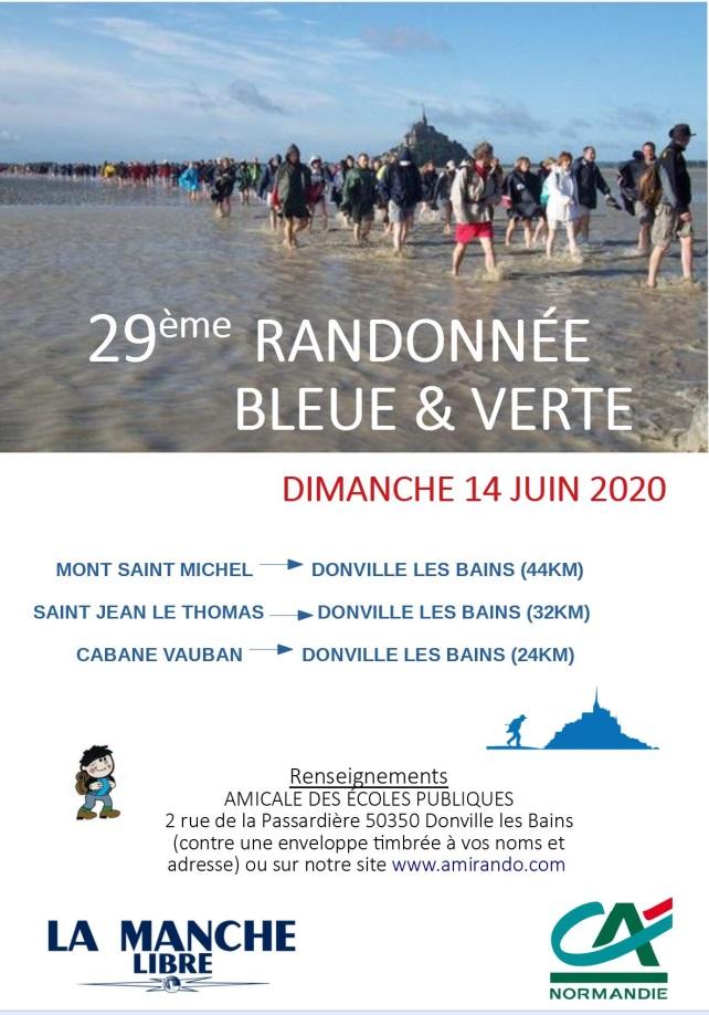 Rando Bleue & Verte - Dim 14/06/20 -Donville (50) - ANNULÉE Rando14